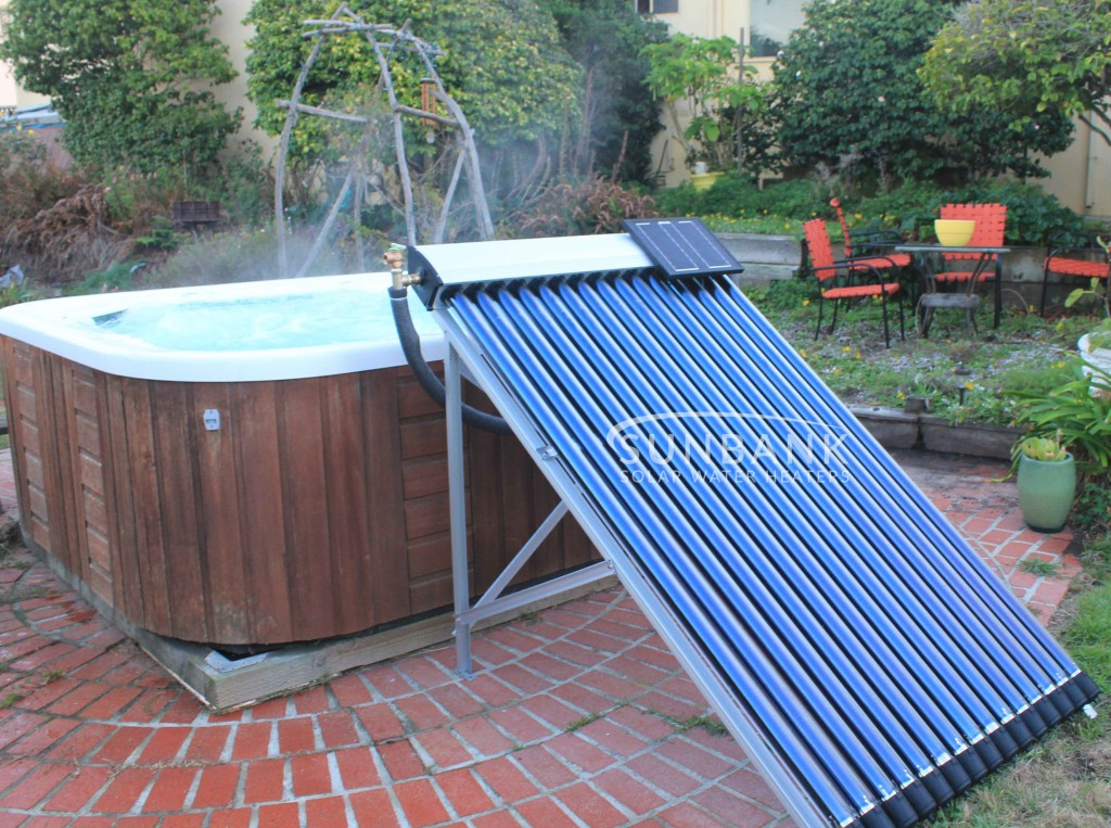 Purchase A Solar Hot Tub Heater Kit Sunbank Solar Water