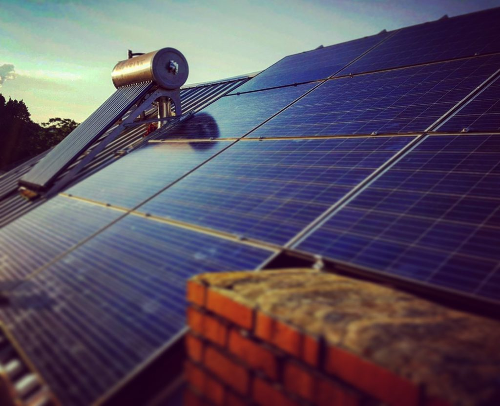Residential Solar Water Heater Cuts Your Energy Costs