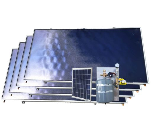 solar swim spa heater kit with four collectors